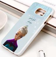 Frozen Elsa Quotes Custom Samsung Galaxy S3 S4 S5 S6 S7 Case