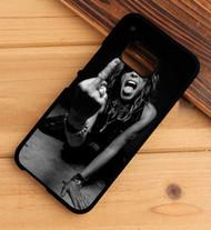 Aerosmith Steven Tyler Finger Flip Custom HTC One X M7 M8 M9 Case
