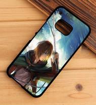 Armin Arlert Attack on Titan Custom HTC One X M7 M8 M9 Case