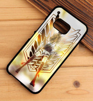 Attack on Titan Shingeki No Kyojin Eren Jaeger Custom HTC One X M7 M8 M9 Case