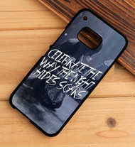 Pierce the Veil lyrics Custom HTC One X M7 M8 M9 Case