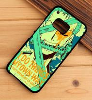 Roronoa Zoro One Piece Quotes Custom HTC One X M7 M8 M9 Case