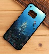 Ariel The Little Mermaid Castle Custom HTC One X M7 M8 M9 Case