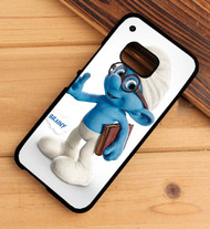 Brainy The Smurfs Custom HTC One X M7 M8 M9 Case