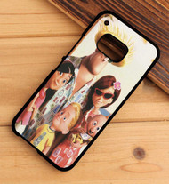 Disney Pixar The Incredibles Holiday Custom HTC One X M7 M8 M9 Case