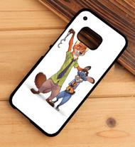 Nick Wilde And Juddy Hopps Disney Zootopia 2 Custom HTC One X M7 M8 M9 Case