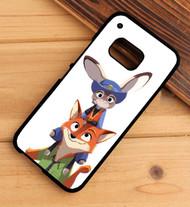 Nick Wilde And Juddy Hopps Disney Zootopia Custom HTC One X M7 M8 M9 Case