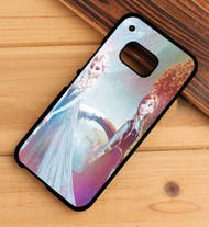 Queen Elsa and Princess Anna Disney Frozen Custom HTC One X M7 M8 M9 Case