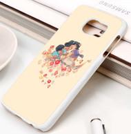 Jasmine and Aladdin Custom Samsung Galaxy S3 S4 S5 S6 S7 Case