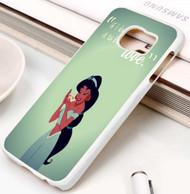 Jasmine Quotes Custom Samsung Galaxy S3 S4 S5 S6 S7 Case