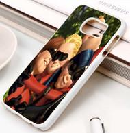 The Incredibles Hug Custom Samsung Galaxy S3 S4 S5 S6 S7 Case