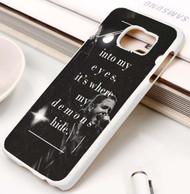 Demons Imagine Dragons Lyrics Custom Samsung Galaxy S3 S4 S5 S6 S7 Case