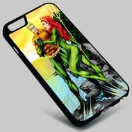 Aquaman and Mera DC Comics on your case iphone 4 4s 5 5s 5c 6 6plus 7 Samsung Galaxy s3 s4 s5 s6 s7 HTC Case