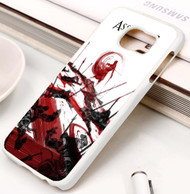 Assassins Creed Water Color Custom Samsung Galaxy S3 S4 S5 S6 S7 Case