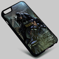 Batman and Catwoman DC Comics on your case iphone 4 4s 5 5s 5c 6 6plus 7 Samsung Galaxy s3 s4 s5 s6 s7 HTC Case