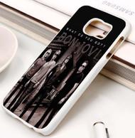 Bon Jovi Custom Samsung Galaxy S3 S4 S5 S6 S7 Case