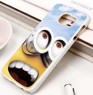 Minion Big Eyes Despicable Me Custom Samsung Galaxy S3 S4 S5 S6 S7 Case