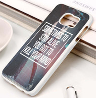 Twenty One Pilots Quotes Custom Samsung Galaxy S3 S4 S5 S6 S7 Case