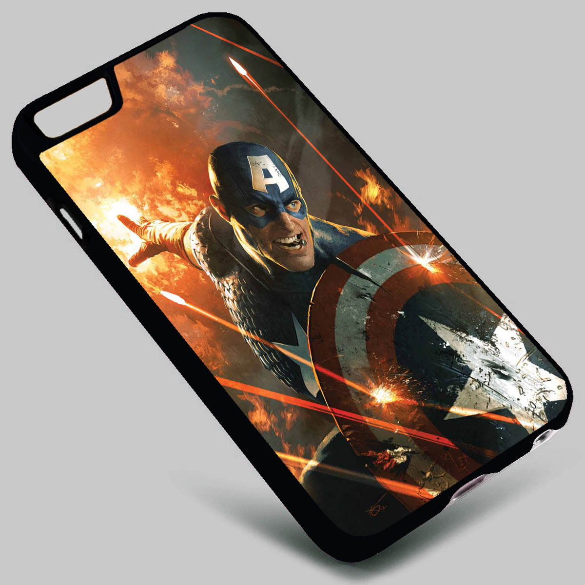 the best attitude 381b9 b94a3 Captain America The Avengers on your case iphone 4 4s 5 5s 5c 6 6plus 7  Samsung Galaxy s3 s4 s5 s6 s7 HTC Case