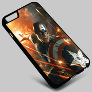 Captain America The Avengers on your case iphone 4 4s 5 5s 5c 6 6plus 7 Samsung Galaxy s3 s4 s5 s6 s7 HTC Case
