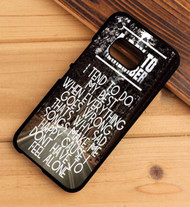 A Day To Remember Lyrics Custom HTC One X M7 M8 M9 Case