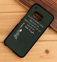 Chester Bennington Quotes Custom HTC One X M7 M8 M9 Case