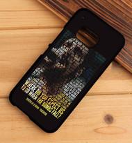 System Of A Down Tentative Lyrics Custom HTC One X M7 M8 M9 Case