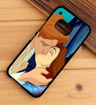 Beauty and the Beast Kiss Custom HTC One X M7 M8 M9 Case