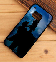 Beauty and the Beast Silhouette Custom HTC One X M7 M8 M9 Case