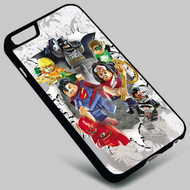 DC Comics Superhero Lego Superman Wonder Woman Batman on your case iphone 4 4s 5 5s 5c 6 6plus 7 Samsung Galaxy s3 s4 s5 s6 s7 HTC Case