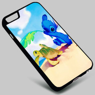 Disney Stitch and Turtles on your case iphone 4 4s 5 5s 5c 6 6plus 7 Samsung Galaxy s3 s4 s5 s6 s7 HTC Case