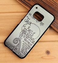 Blink-182 I Miss You Lyrics Custom HTC One X M7 M8 M9 Case