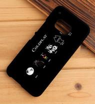 Coldplay Albums Custom HTC One X M7 M8 M9 Case