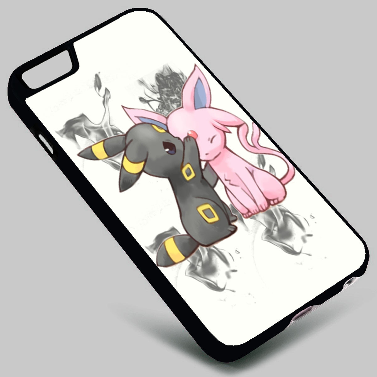 premium selection 6dd4a d3798 Espeon and Umbreon Pokemon on your case iphone 4 4s 5 5s 5c 6 6plus 7  Samsung Galaxy s3 s4 s5 s6 s7 HTC Case