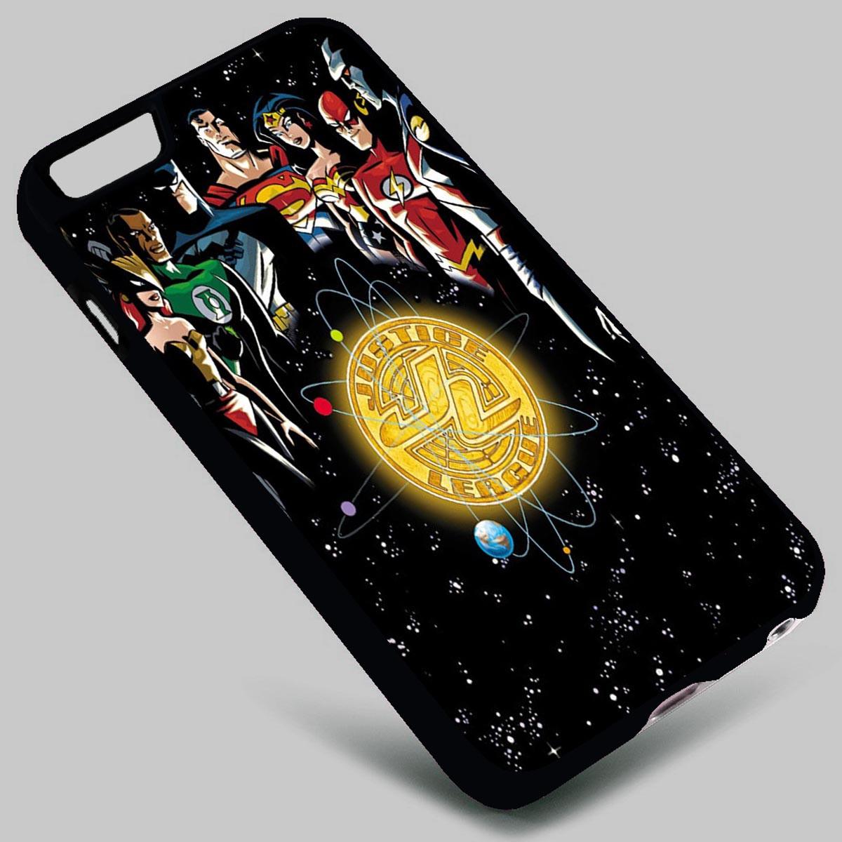 Justice League Batman Wonder Woman Superman The Flash Green Lantern on your case iphone 4 4s 5 5s 5c 6 6plus 7 Samsung Galaxy s3 s4 s5 s6 s7 HTC Case