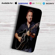 Bruce Springsteen Leather Wallet iPhone 5 Case