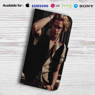 Cody simpson Leather Wallet iPhone 5 Case