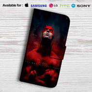 Daredevil The Man Without Fear Leather Wallet iPhone 5 Case