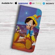 Disney Pinocchio Leather Wallet iPhone 5 Case