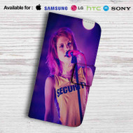 Hayley Williams Leather Wallet iPhone 5 Case