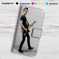 Hunter Hayes Guitar Leather Wallet iPhone 5 Case
