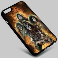 Kiss Band (1) on your case iphone 4 4s 5 5s 5c 6 6plus 7 Samsung Galaxy s3 s4 s5 s6 s7 HTC Case