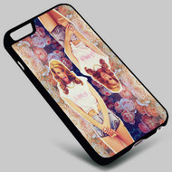 Lana Del Rey Floral Vintage on your case iphone 4 4s 5 5s 5c 6 6plus 7 Samsung Galaxy s3 s4 s5 s6 s7 HTC Case