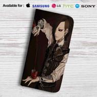 Tokyo Ghoul Uta Drink Leather Wallet iPhone 5 Case