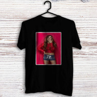 Ariana Grande Red Custom Men Woman T Shirt