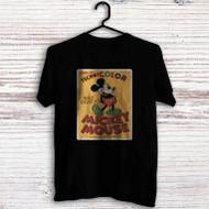 Disney Mickey Mouse Technicolor Custom Men Woman T Shirt