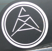 CMA Reflective Sticker