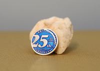 Commemorative 25th Anniversary Medallion