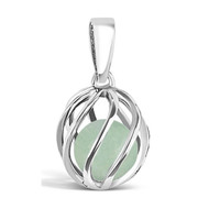 May Birthstone -- Jade (twisted)