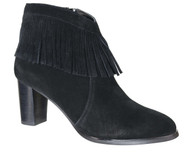 David Tate Misty Black Suede